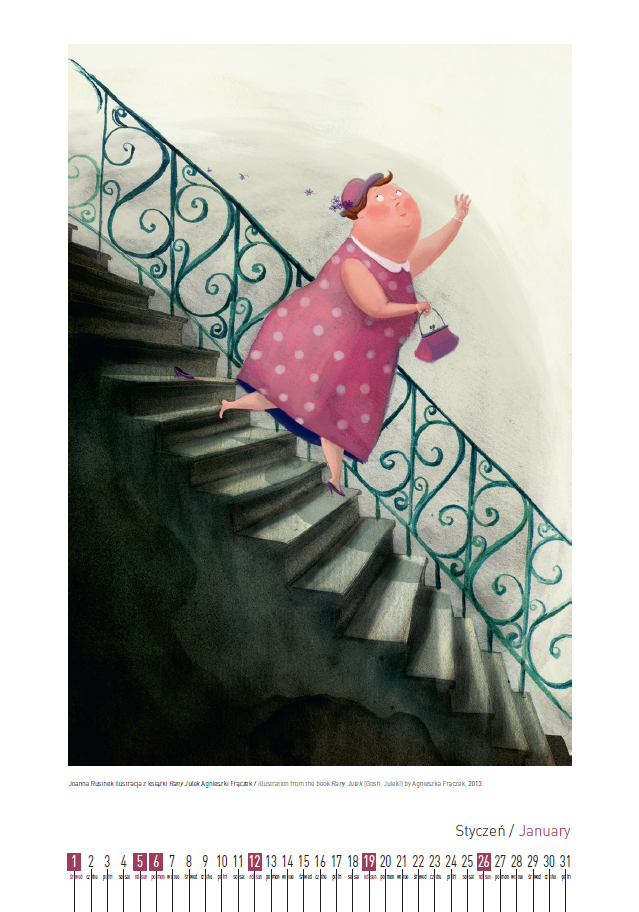 Joanna Rusinek  ilustracja z książki Rany Julek Agnieszki Frączek /  illustration from the book Rany Julek [Gosh, Julek!] by Agnieszka Frączek, 2013